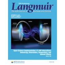 Langmuir: Volume 31, Issue 37