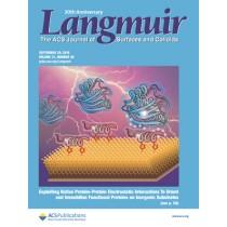 Langmuir: Volume 31, Issue 38