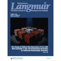 Langmuir: Volume 31, Issue 39