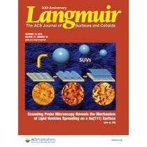 Langmuir: Volume 31, Issue 40