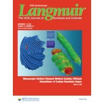 Langmuir: Volume 31, Issue 45