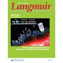 Langmuir: Volume 31, Issue 51