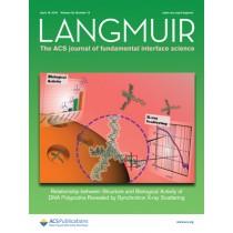 Langmuir: Volume 32, Issue 15