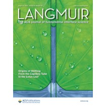 Langmuir: Volume 32, Issue 33