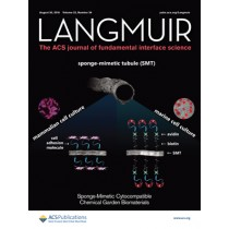 Langmuir: Volume 32, Issue 34