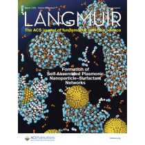 Langmuir: Volume 32, Issue 8