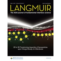 Langmuir: Volume 33, Issue 10