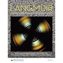 Langmuir: Volume 33, Issue 12