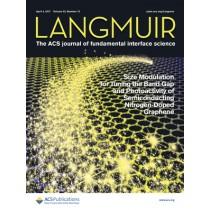Langmuir: Volume 33, Issue 13
