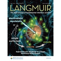 Langmuir: Volume 33, Issue 14