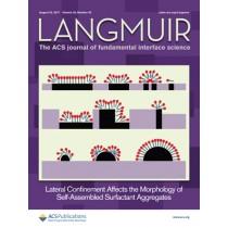 Langmuir: Volume 33, Issue 33