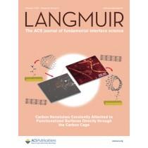 Langmuir: Volume 33, Issue 5