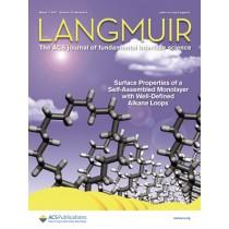 Langmuir: Volume 33, Issue 9