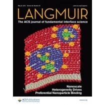 Langmuir: Volume 34, Issue 20