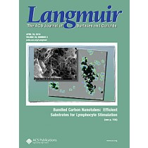 Langmuir: Volume 26, Issue 8