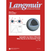 Langmuir: Volume 26, Issue 12