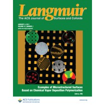Langmuir: Volume 27, Issue 1