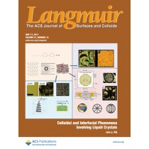 Langmuir: Volume 27, Issue 10