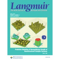 Langmuir: Volume 27, Issue 13