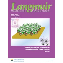 Langmuir: Volume 28, Issue 1