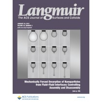 Langmuir: Volume 28, Issue 3