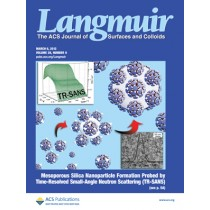 Langmuir: Volume 28, Issue 9