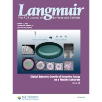 Langmuir: Volume 28, Issue 10