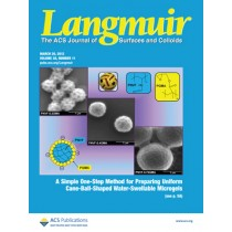 Langmuir: Volume 28, Issue 11