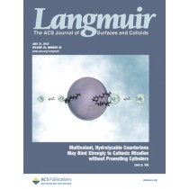 Langmuir: Volume 28, Issue 30