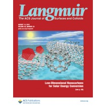Langmuir: Volume 28, Issue 32