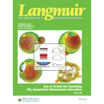 Langmuir: Volume 28, Issue 35