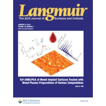 Langmuir: Volume 29, Issue 3