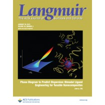 Langmuir: Volume 29, Issue 4
