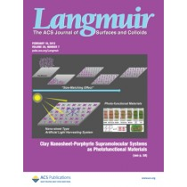 Langmuir: Volume 29, Issue 7