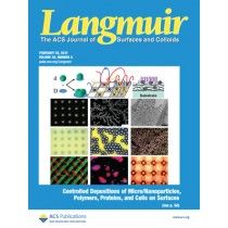 Langmuir: Volume 29, Issue 8