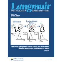 Langmuir: Volume 29, Issue 9