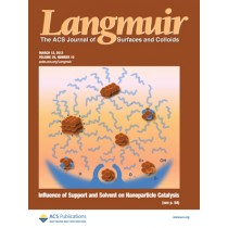 Langmuir: Volume 29, Issue 10
