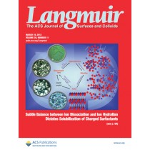 Langmuir: Volume 29, Issue 11