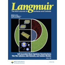 Langmuir: Volume 29, Issue 12