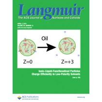 Langmuir: Volume 29, Issue 13