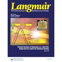 Langmuir: Volume 29, Issue 19