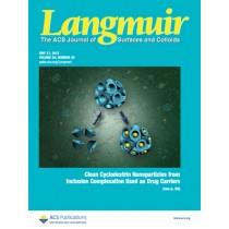 Langmuir: Volume 29, Issue 20
