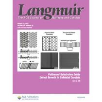 Langmuir: Volume 29, Issue 32