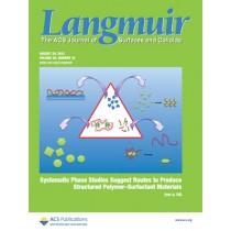 Langmuir: Volume 29, Issue 33