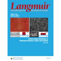 Langmuir: Volume 30, Issue 4