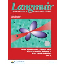 Langmuir: Volume 30, Issue 10