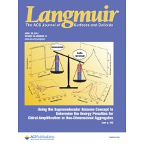 Langmuir: Volume 30, Issue 16