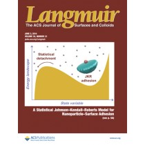 Langmuir: Volume 30, Issue 21
