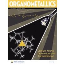 Organometallics: Volume 38, Issue 12