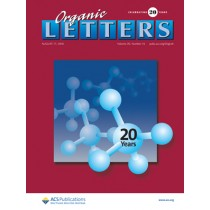 Organic Letters: Volume 20, Issue 16
